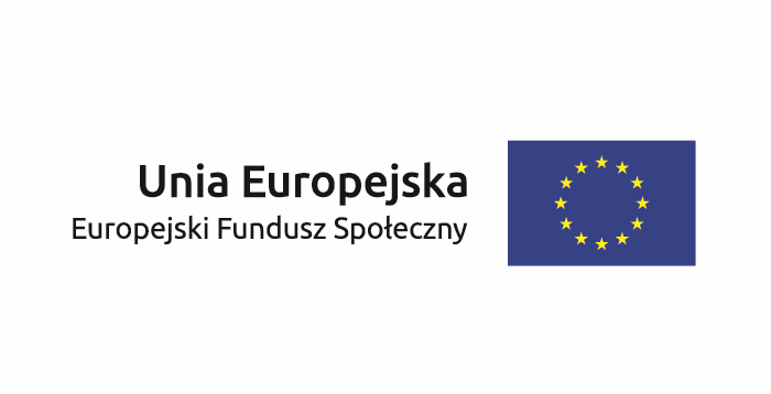 Logo - Unia Europejska - Europejski Fundusz Społeczny