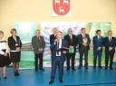 Radny Sejmiku Województwa Lubelskiego przemawia podczas ceremonii otwarcia.
